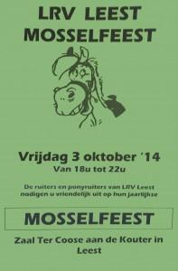 Mosselfeest LRV Leest